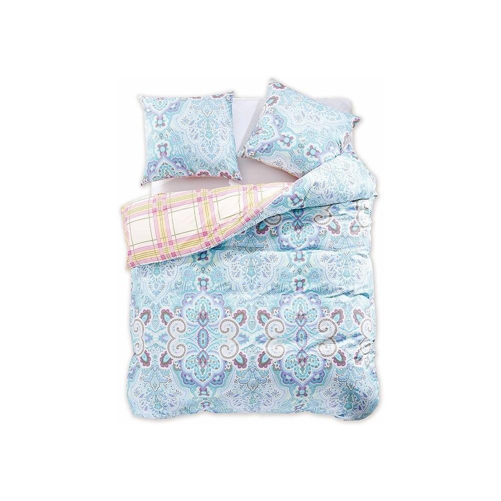 Obojstranné bavlnené obliečky na dvojlôžko DecoKing Diamond Marbella, 200 × 220 cm