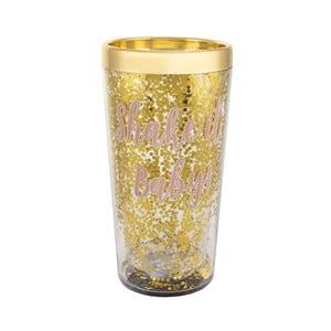 Šejker na koktejly zlatej farby Sass & Belle Prosecco