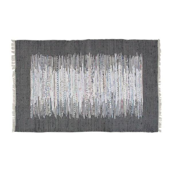 Koberec Ikat Black, 140x200 cm