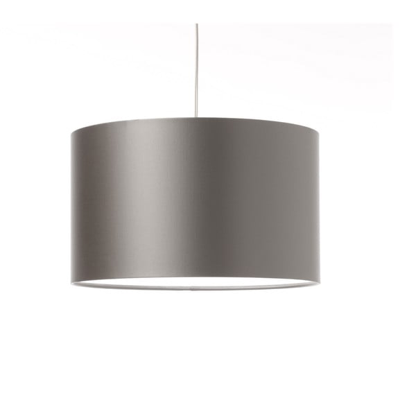 Strieborné stropné svetlo Artist, variabilná dĺžka, Ø 42 cm