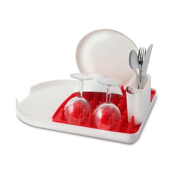 Červený odkvapkávač na riad Vialli Design Colori