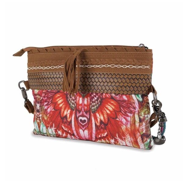Farebná kabelka Lois, 30 x 23 cm