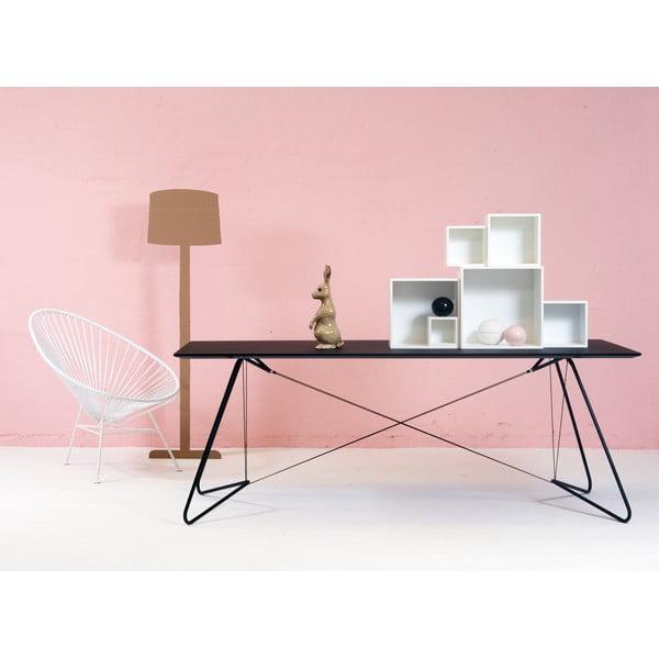 Jedálenský/pracovný stôl On A String, biely, 200 x 90 cm