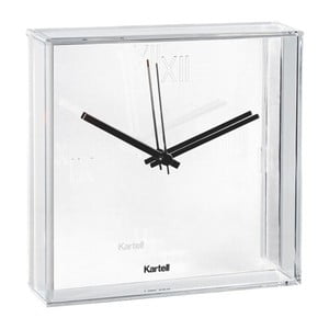 Biele nástenné hodiny Kartell Tic Tac