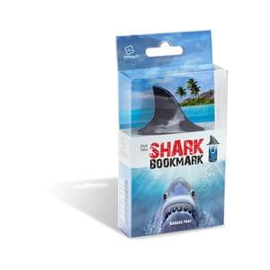 Záložka do knižky vo žraločie plutvy Thinking gifts Shark