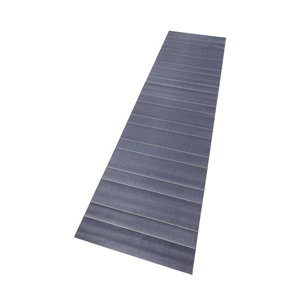 Koberec vhodný do exteriéru Sunshine 80x300 cm, modrý