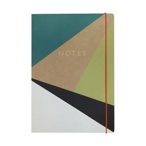 Zápisník A4 Portico Designs Trigonometry, 160 stránok