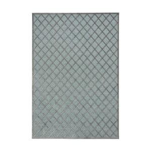 Sivo-modrý koberec Mint Rugs Shine Karro, 200 × 300 cm