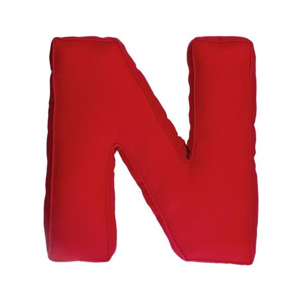 Látkový vankúš N, červený