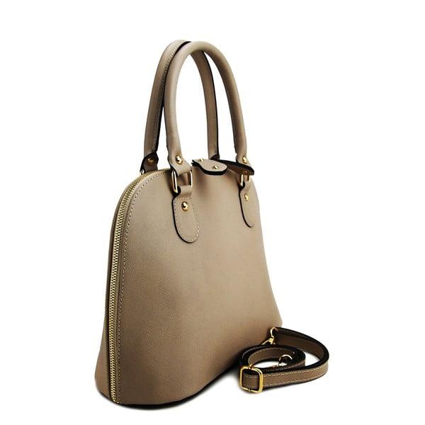 Kožená kabelka Cheesa Taupe