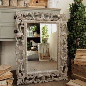 Zrkadlo Foggia Grey Antique