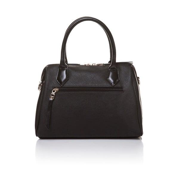 Kožená kabelka do ruky Marta Ponti Classy, čierna