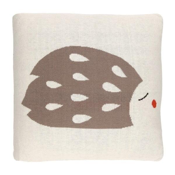 Obojstranný vankúš Art For Kids Hedgehog, 35×35 cm