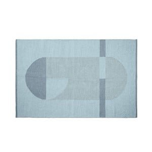 Modrý detský koberec Flexa Room, 120 x 180 cm