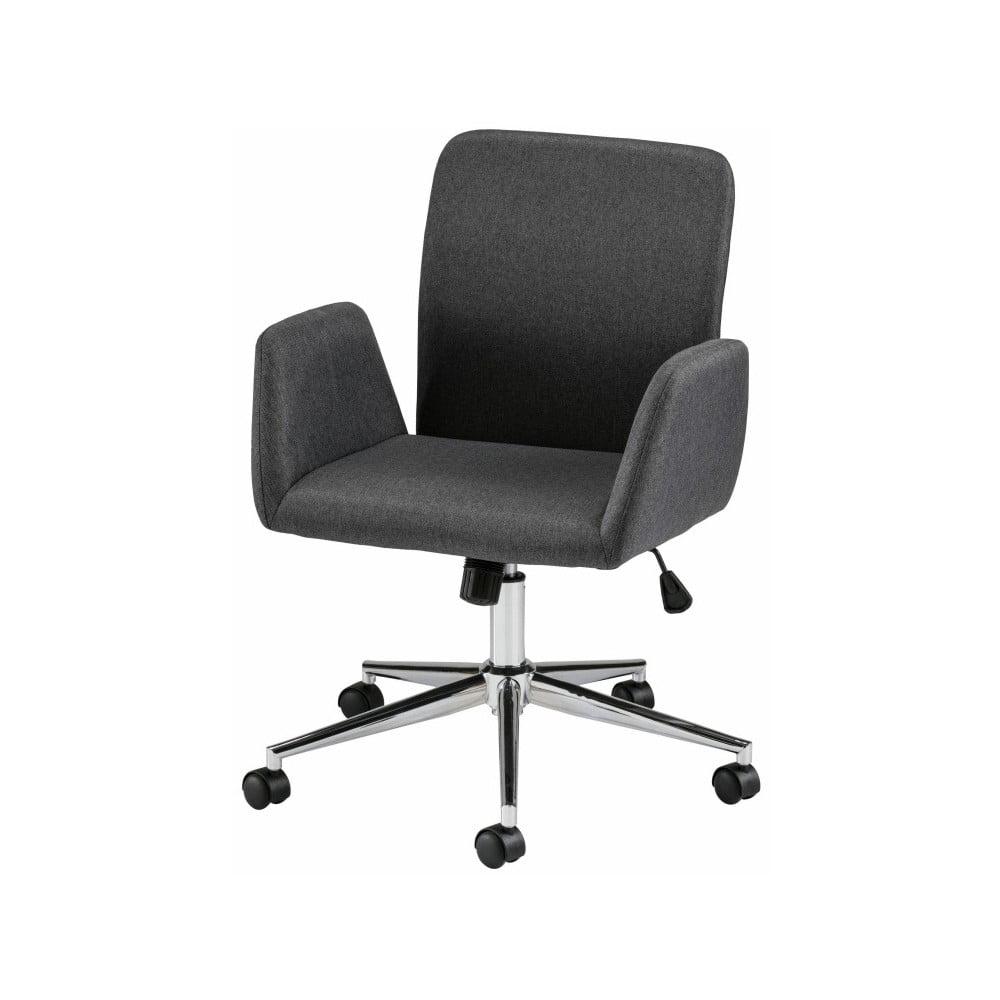 Čierna kancelárska stolička na kolieskach s opierkami Støraa Bendy