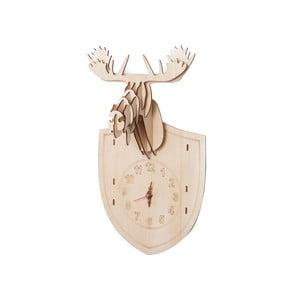 Drevené hodiny na zloženie Moose