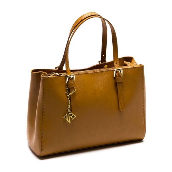 Kožená kabelka Ellie 441 Cognac