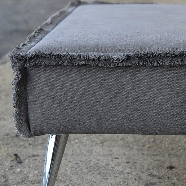 Lavica na sedenie Underground, šedá