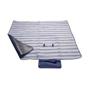 Modrá pikniková deka Cattara Fleece, 150×135cm