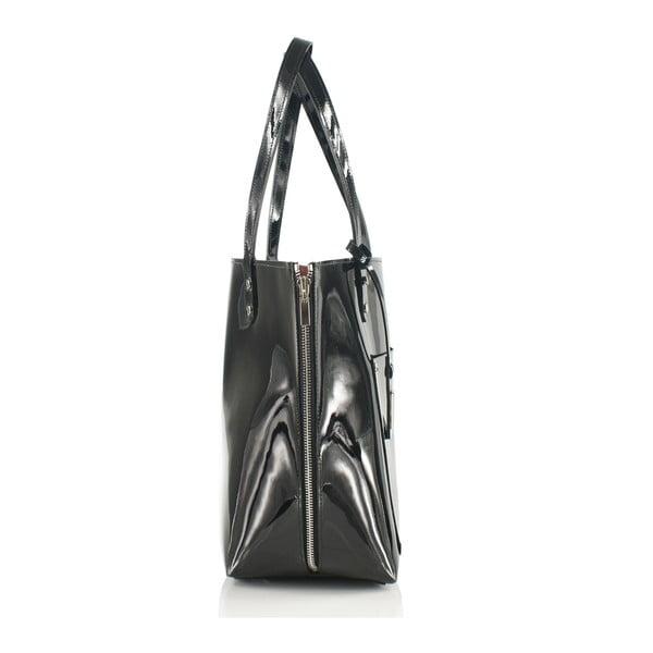 Kožená kabelka Boscollo Black 3468