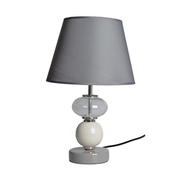 Stolová lampa Sivá Elegancia