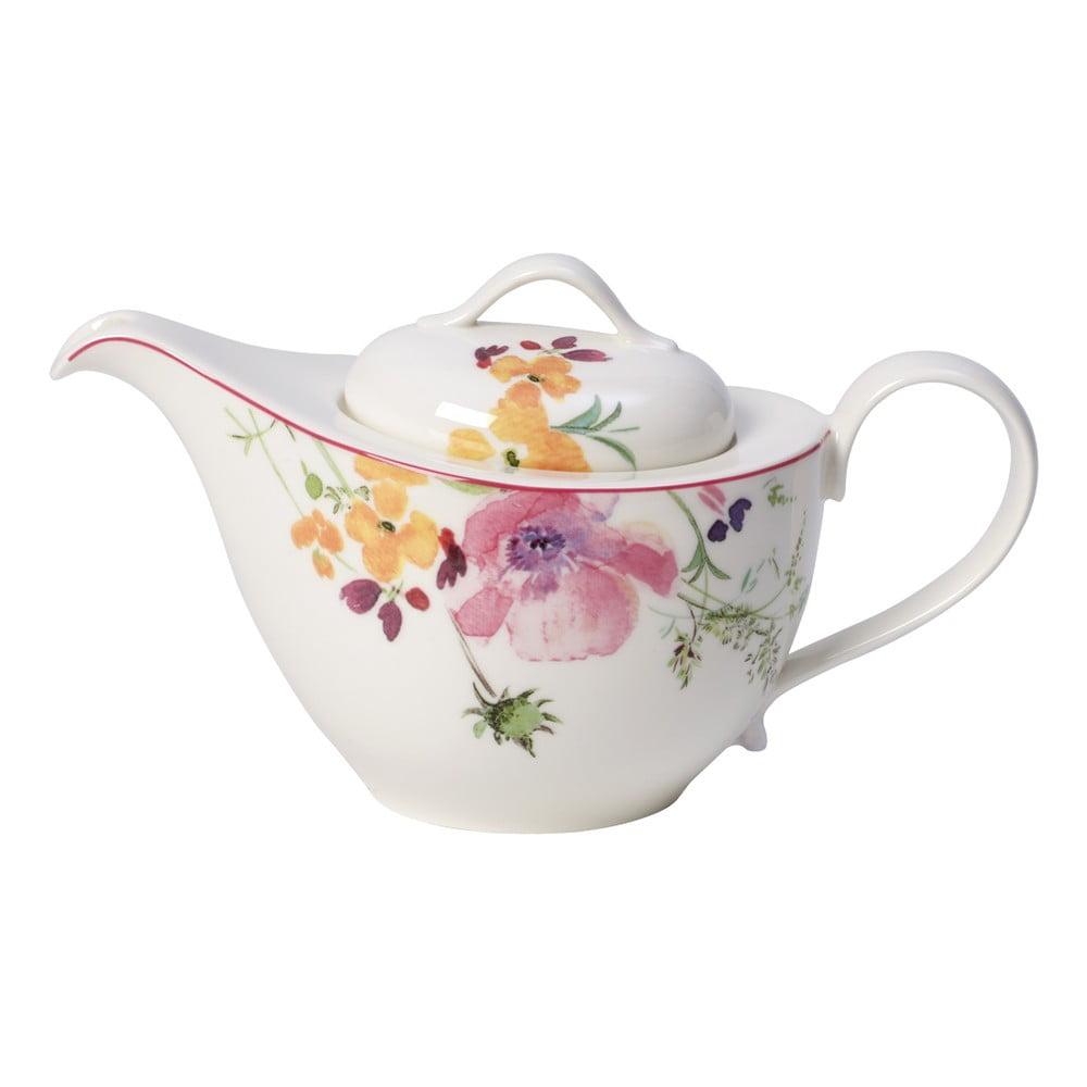 Čajová porcelánová kanvica Villeroy & Boch Mariefleur Tea, 0,62 l
