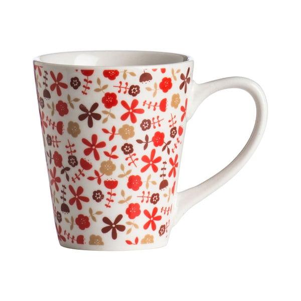 Jedálenská sada Premier Housewares Red Daisy, 16ks