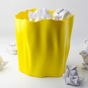 Odpadkový kôš QUALY Flow Bin, žltý