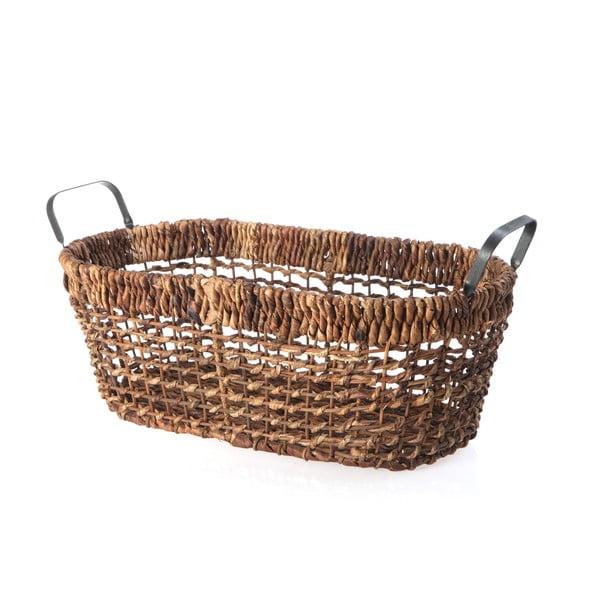 Prútený košík Oval Wicker, 52 cm