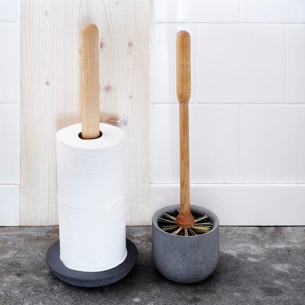 Tmavosivý stojan na toaletný papier Iris Hantverk