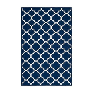 Vlnený koberec Safavieh Dhurrie, 152 x 243 cm