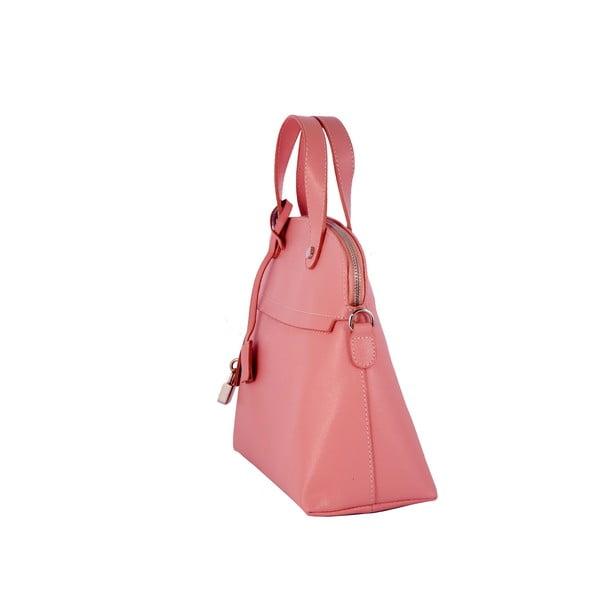Kožená kabelka Andrea Cardone 2027 Pink