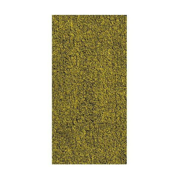 Osuška Ladessa, sivá/žltá, 70x140 cm