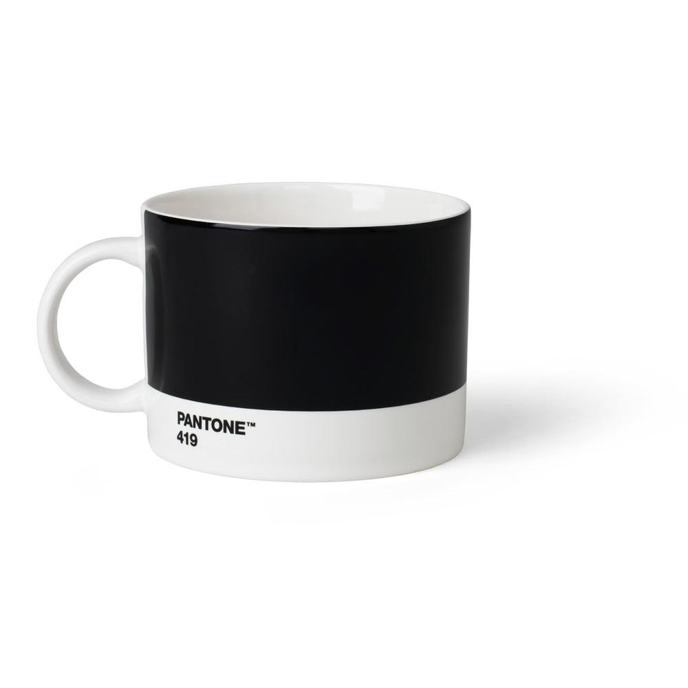 Čierny hrnček na čaj Pantone, 475 ml