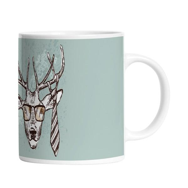 Keramický hrnček Handsome Deer, 330 ml