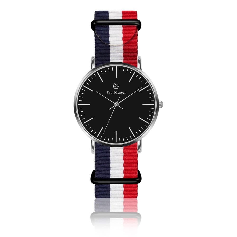 Unisex hodinky s remienkom z nylónu Paul McNeal Curmio