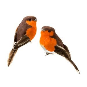 Sada 6 dekoratívnych vtáčikov Talking Tables