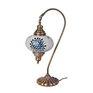 Sklenená lampa Fishing III, 17 cm