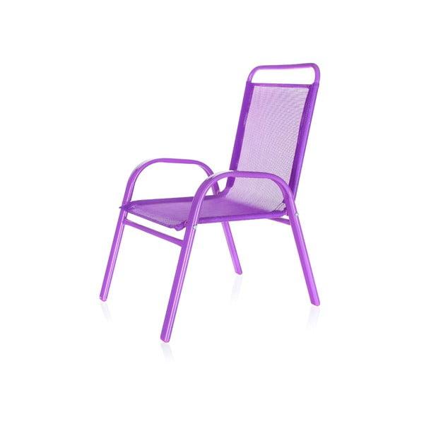 Detská záhradná stolička Kids, fialová