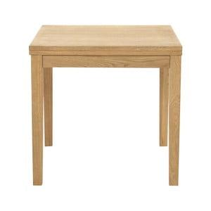 rozkladacia stôl s podnožím z dubového dreva Actona Jackson
