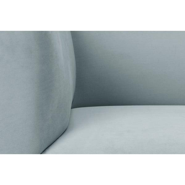 Svetlosivá dvojmiestna pohovka Windsor & Co Sofas Neptune