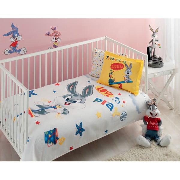 Sada prešívanej prikrývky na posteľ a vankúša Single 313, 160x220 cm