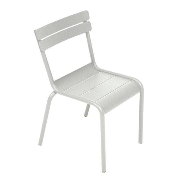 Svetlosivá detská stolička Fermob Luxembourg