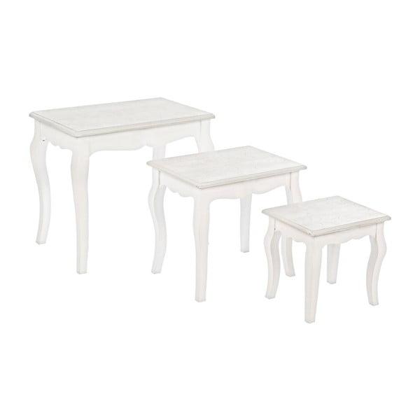 Set 3 stolíkov Bizzotto Clorine