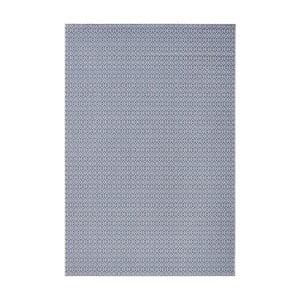 Koberec vhodný do exteriéru Meadow 140x200 cm, modrý