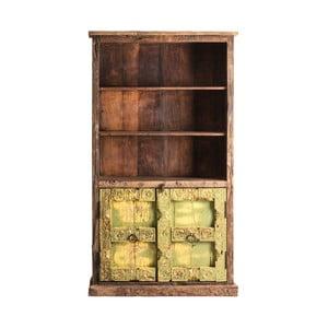 Knižnica z mangového a akáciového dreva VICAL HOME Lahore