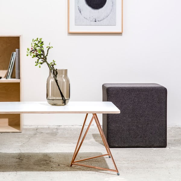 Podnož ku konferenčnému stolu Coffee Copper, 29x70 cm