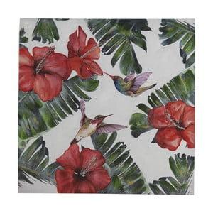 Nástenný obraz na plátne Geese Modern Style Hummingbird Cubico, 100 × 100 cm