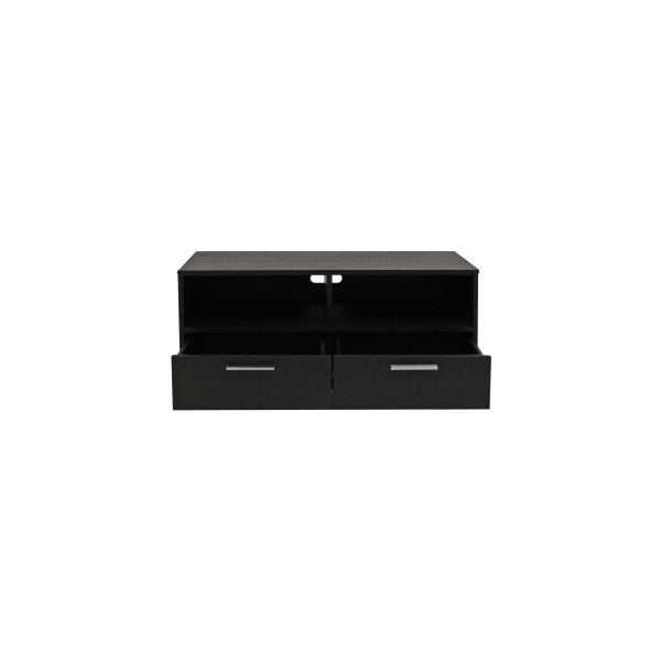 Televízny stolík Capella Black, 102x50x42 cm