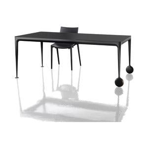 Čierny jedálenský stôl Magis Big Will, dĺžka 240 cm